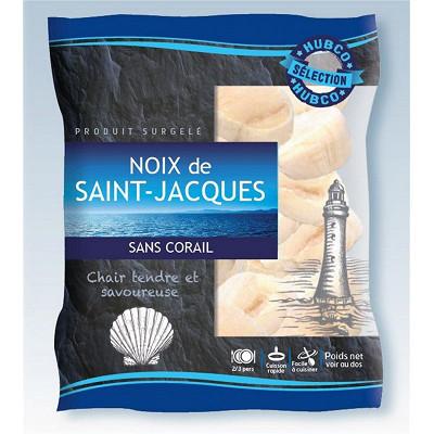 Hubco Hubco noix de Saint Jacques sans corail 40/60 origine Pérou 250g
