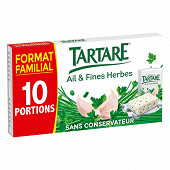 Tartare ail et fines herbes 10 portions 160g format familial