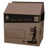 Pack and move carton de déménagement 36L