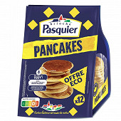 Pasquier pancake nature x12 offre économique 420g