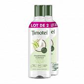 Timotei shampoing femme lait de coco et aloe vera 2x300ml