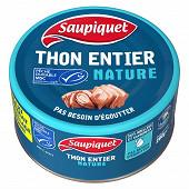 Saupiquet thon entier naturer msc 280g