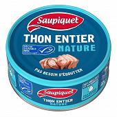 Saupiquet thon entier nature MSC 112g