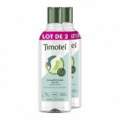 Timotei shampooing femme concombre lot de 2 x 300 ml