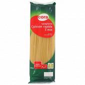 Cora spaghetti cuisson rapide 500g