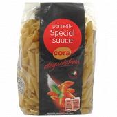 Cora dégustation pennette spécial sauce 500g
