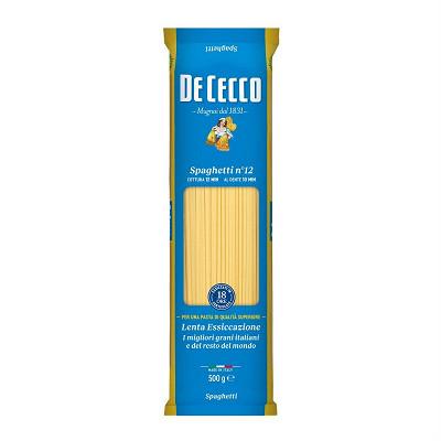 De Cecco De cecco spaghetti n°12 sachet 500g