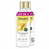 Timotei après-shampooing femme huile d'argan bio & fleur de jasmin 2x300ml