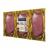 Maison Montfort magret de canard gras cru x3