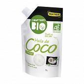 Comptoirs bio huile de coco vierge 1l