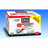 Rubson recharge absorbeur d'humidité classic 3+1 offert