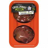 Loeul et Piriot 4 foies de lapin