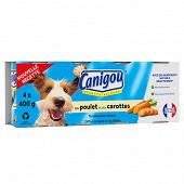 Canigou recette allégée boites en terrine pour chien adulte au poulet