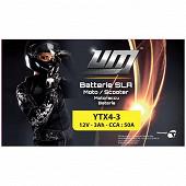 UM batterie moto YTX4-3