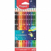 12 crayons de couleur tatoo