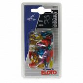 Eloto 30 mini fusibles enfilables 10mm assortis