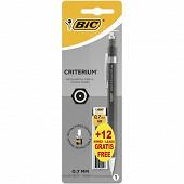 Bic porte mine critérium 0.7 mm + 12 mines offertes
