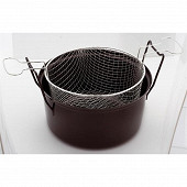 Friteuse du nord email 28 cm induction