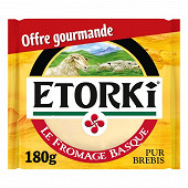 Etorki portion cave fraicheur offre gourmande 180g