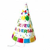 Chapeaux x8 new anniversaire