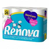 Renova papier toilette skincare x24