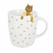 Coffret mug 34cl bombe + cuillère à café