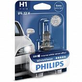 Philips lampe H1 white vision 12V 55W