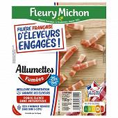 Fleury michon j'aime les allumettes fumées -25%sel 2x75g