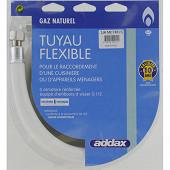 Addax flexible de gaz naturel de 1m validité 10 ans