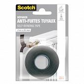 Scotch réparer anti fuites noir 3mX25mm