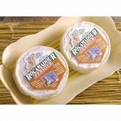 Rocamadour aop fermier au lait cru de chèvre 2x35g