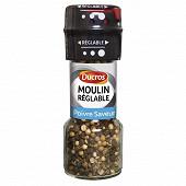 Ducros moulin poivre saveur - Flacon moulin réglable 30g