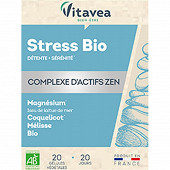 Vitavea stress bio 20 gélules 13g