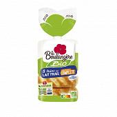 La Boulangère 8 pains au lait bio à la farine complète 280g