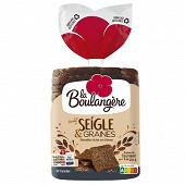 La Boulangère pain de mie seigle & graines 500g