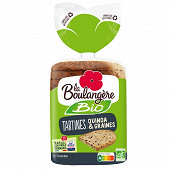La Boulangère tartines bio quinoa et graines 450g
