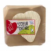 Coeur d'alvignac barquette 100g lait cru de chèvre? 22.5%mg/poids total