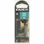 Guex 6 embouts torx 10/40