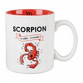 Mug gres 32cl horoscope scorpion