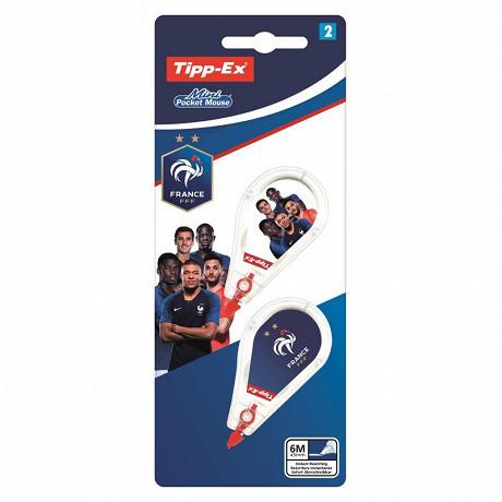 Tipp-ex pocket mouse blister x2 ruban correctif FFF