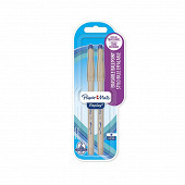 Papermate - 2 stylos bille replay bleu