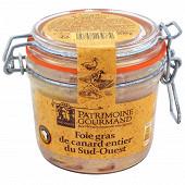 Patrimoine Gourmand foie gras de canard entier du Sud-Ouest bocal 300g