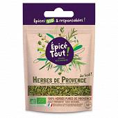 Epice tout herbes de provence bio 15g