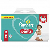 Pampers baby dry pants couches-culottes mega taille 3 94ct