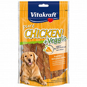 Vitakraft chicken filet + morceaux de carotte 80 grammes