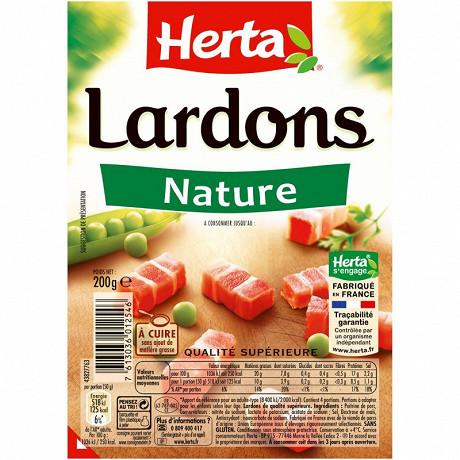 Herta lardons nature 200g