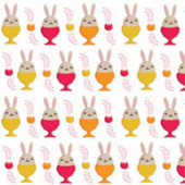 Serviettes x20 eggs rabbit pepsy 33x33cm 3 plis
