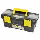 Rondy boîte à outils plastique vide 25x12x10 cm