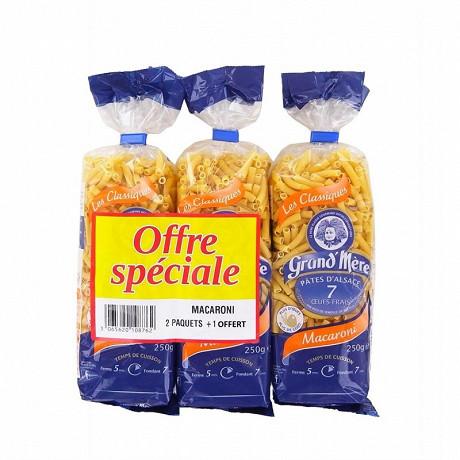 Grand'mère macaronis lot 2+1 offert