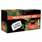 Carte Noire capsules espresso bio type nespresso x30 159g